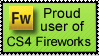 CS4 Fireworks Stamp by SabakuNoHeeromai