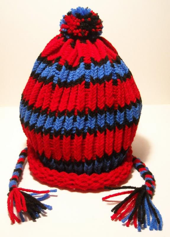 Spiderman Knitted Hat by SabakuNoHeeromai on deviantART