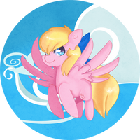 Art trade: I can fly by Sellyinwonderland