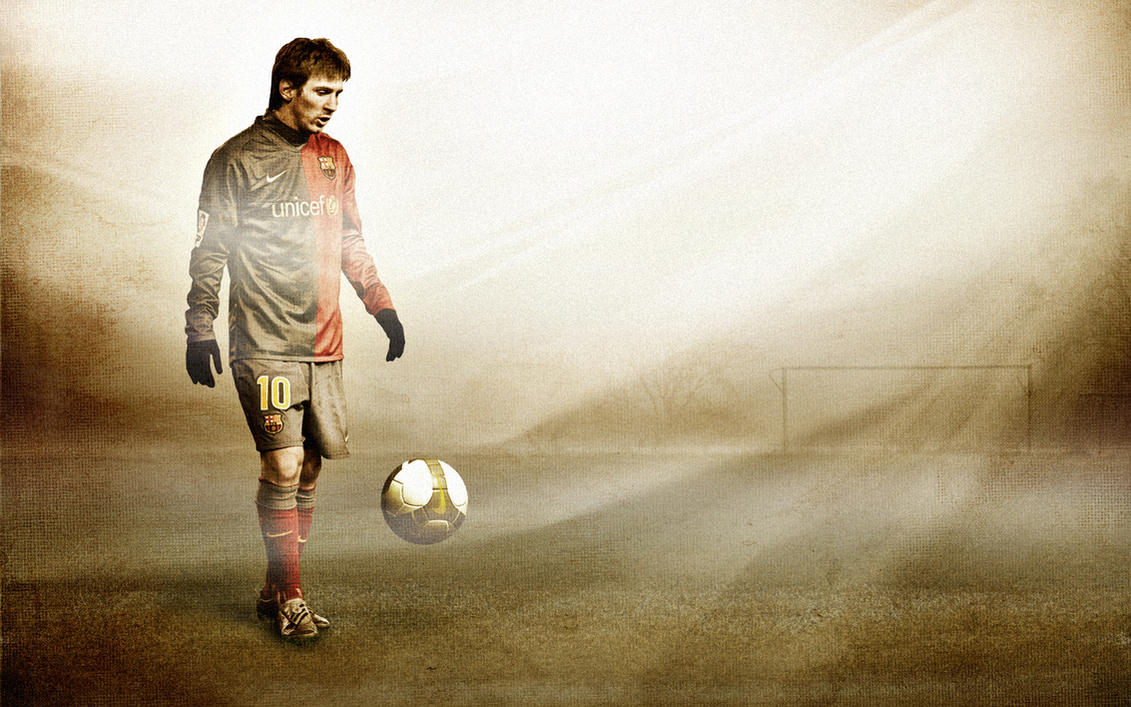 Messi by RossoneroDevil