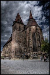 St.-Johannis Church Ansbach by EagleEye666666