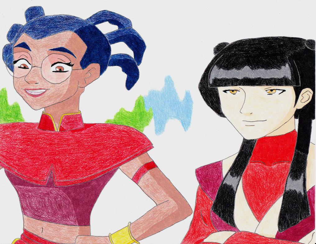 Taranee and Mai by TGrrr89
