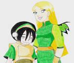 Cornelia and Toph