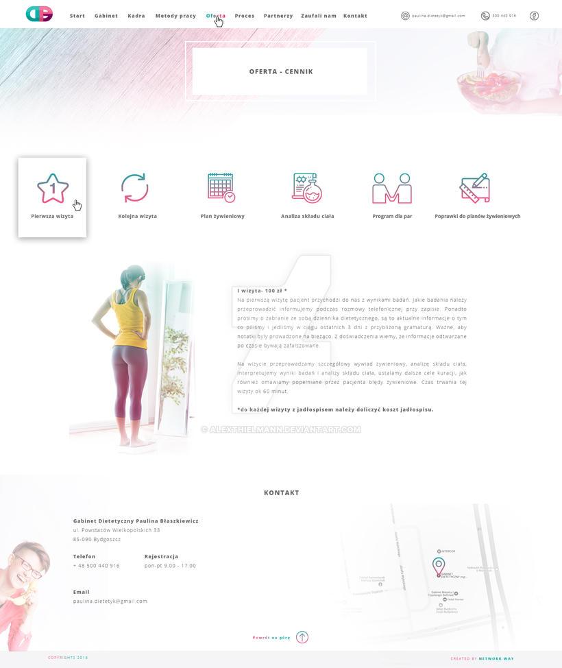 healthly website design offert by alexthielmann on deviantart