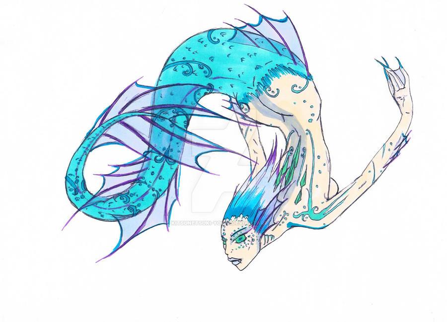 Mermaid by Reptilcat