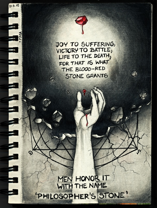 Fullmetal alchemist - Philosopher's stone theme by Ronny-F ...