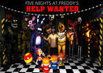 Five Nights at Freddy's Help Wanted Poster