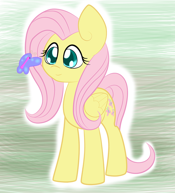 A bit of Fluttershy by MartianSketchPones