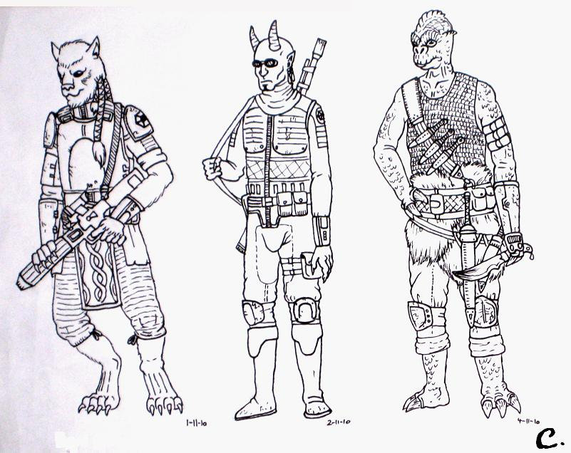FanArt  Conquistadors Kritzeleien  Seite 4  Projekt Star Wars