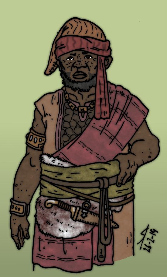 Laeria RPG - Haruk the treasurer by Konquistador