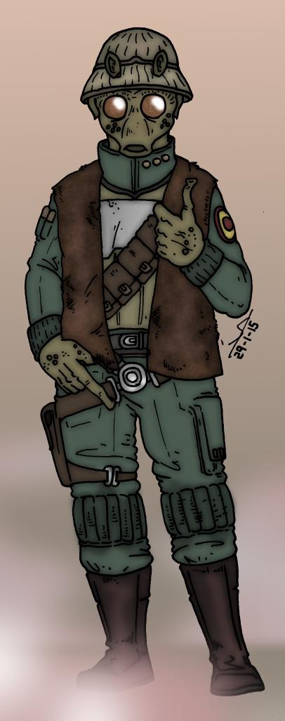 Star Wars - Soldier of fortune by Konquistador