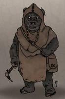 Star Wars - Hero of the Amber Leaf Hamlet by Konquistador