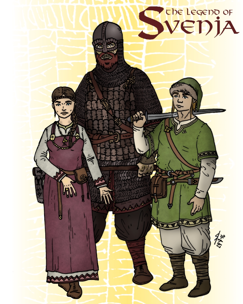 The Legend of Svenja by Konquistador