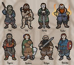 The Eight Dwarves