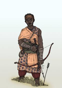 The Elder Scrolls - Redguard Mercenary Archer