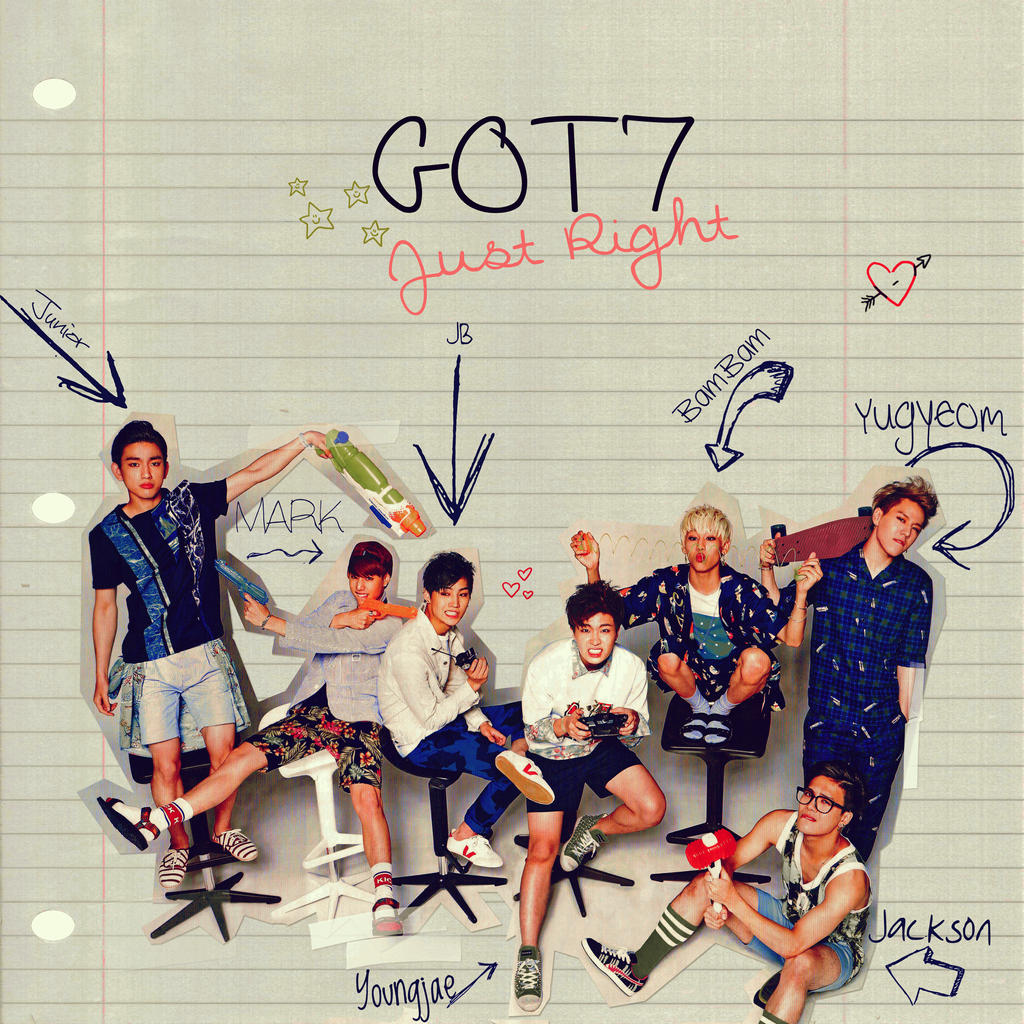 GOT7 Just Right By IzzyDesign
