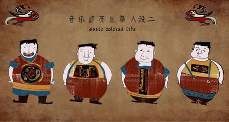 chinese pupet