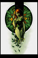 Poison Ivy . Color by mijka