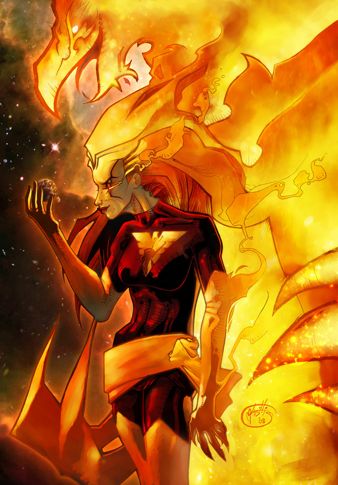 Dark Phoenix - Color by mijka