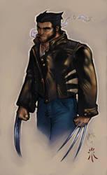 Wolverine by mijka