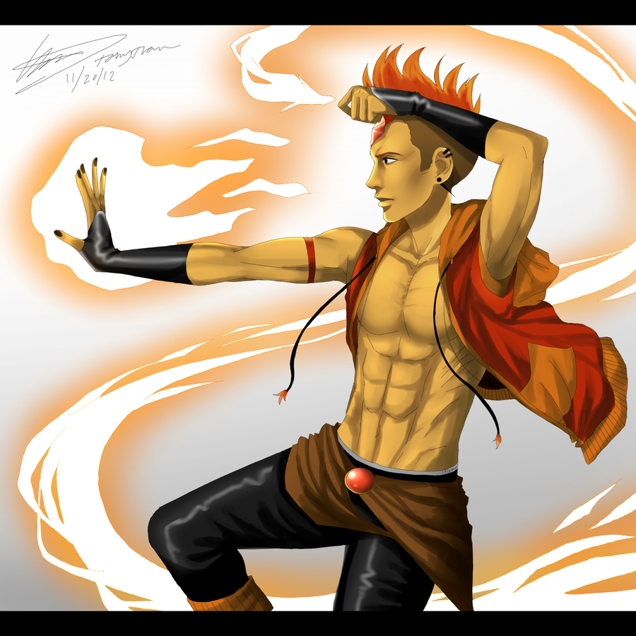 Commission: Flame Prince by Dirkajek144