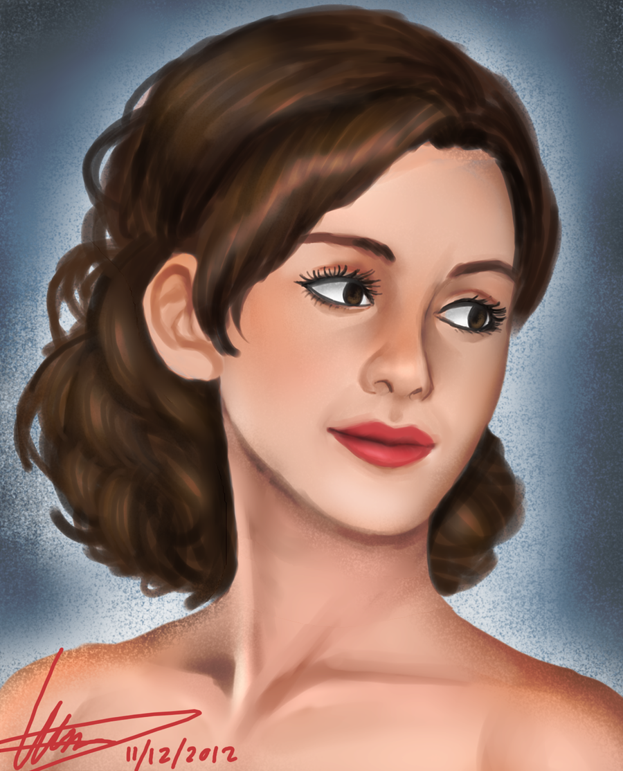 Commission: Emma Watson by Dirkajek144