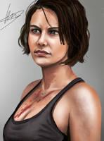 Maggie Greene by Dirkajek144
