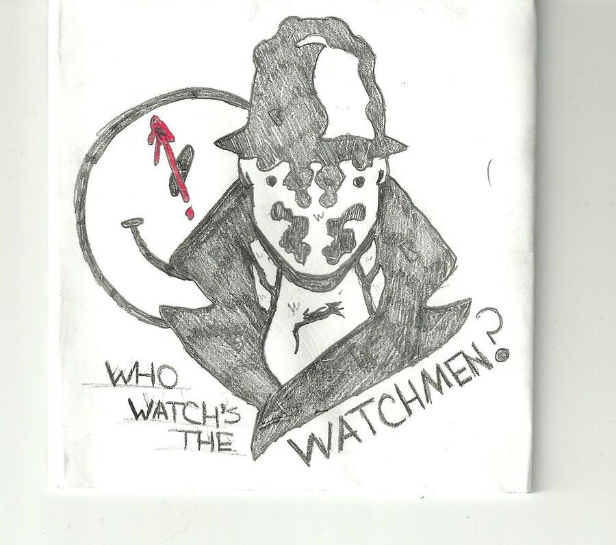 Watchmen smiley tattoo