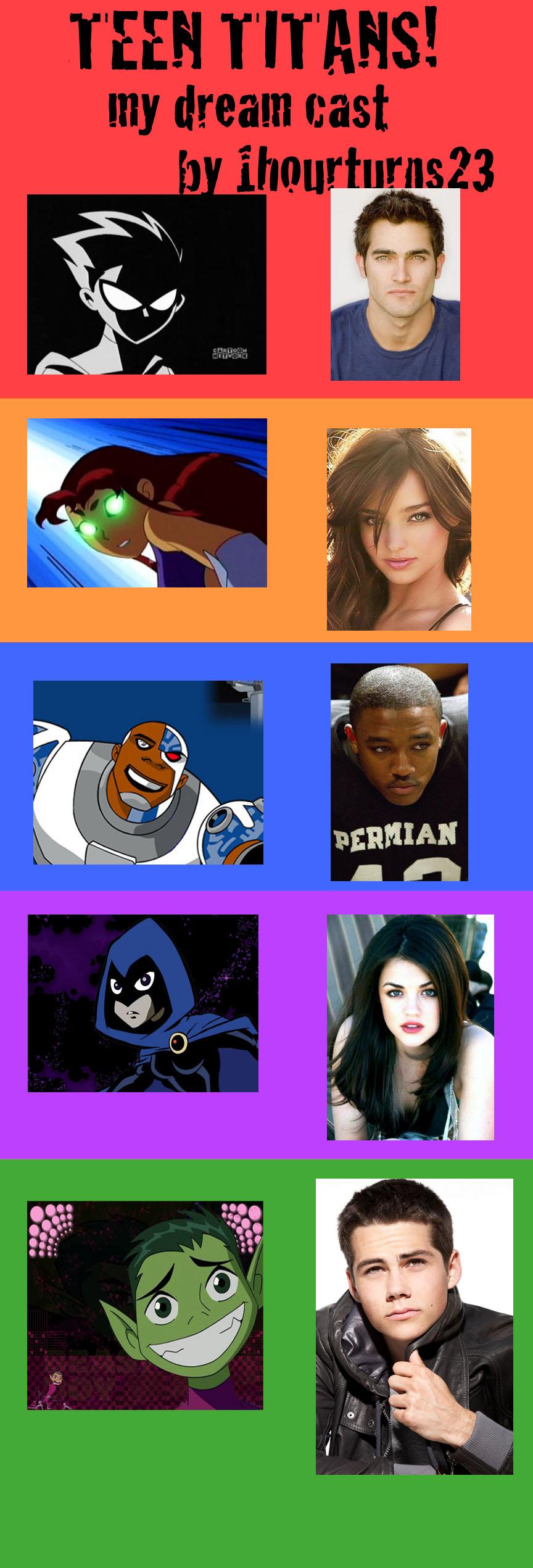 Teen Titans Cast 84