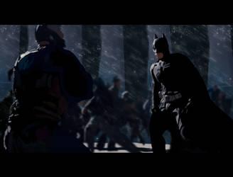 batman digital paint study by ninjaRick