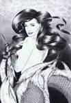 Dita Von Teese as Mermaid by shade0074au