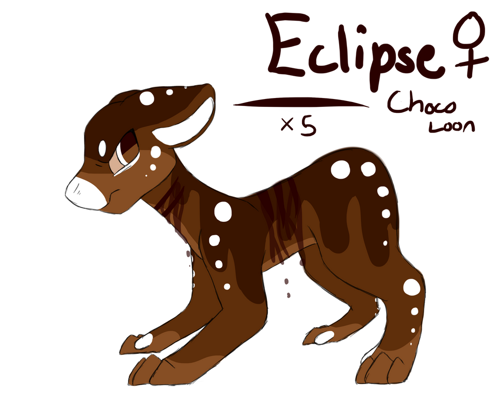 Eclipse ~ Chocolate Loon Approval by Wintercat96