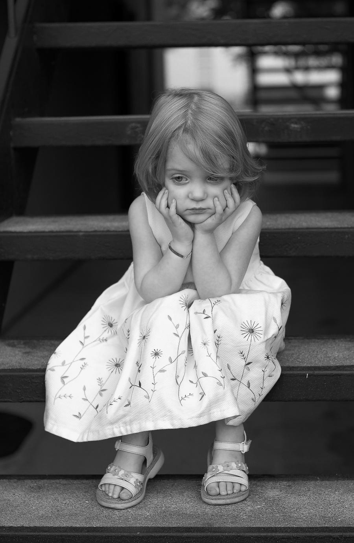 Sad girl by gregbohn