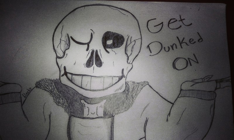 UNDERTALE, Sans, Get dunked ON by Blazky