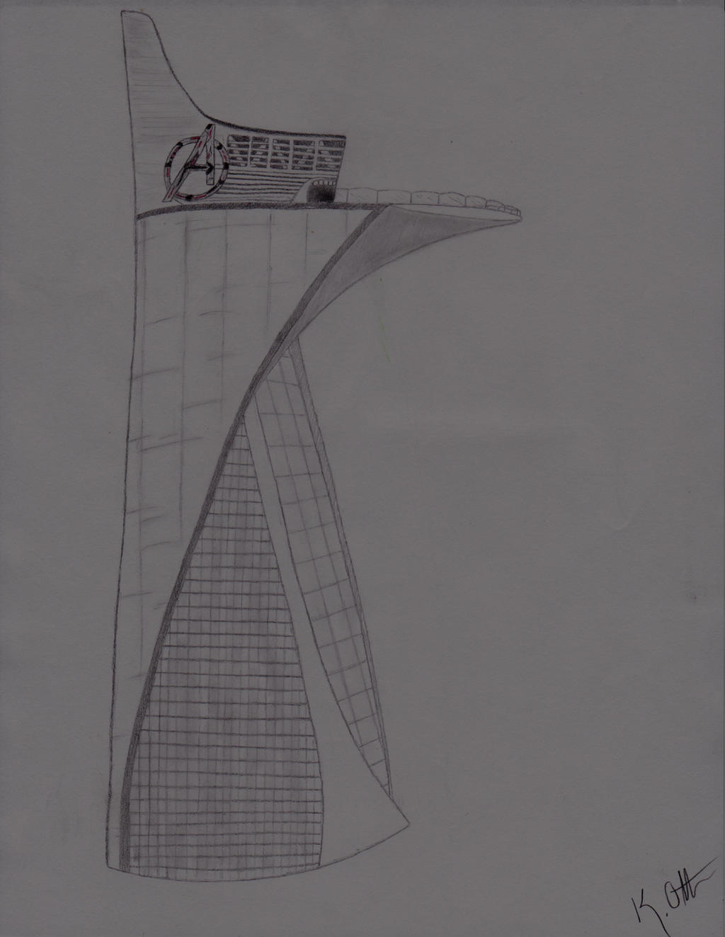 Avengers Tower By X-HuntersWolves-x On DeviantArt