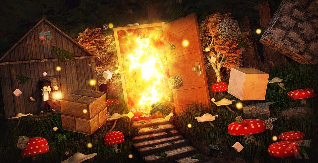 Wallpaper Magic Door by ThiaguPQP ... & Wallpaper Magic Door by ThiaguPQP on DeviantArt