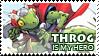 Stamp: Throg is my Hero by virusq