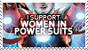 Stamps: I Support Women ... by virusq