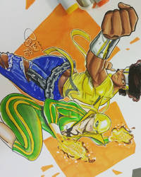Female Luke Cage and Iron Fist
