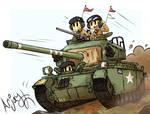 British Centurion MK 3 (Korean War)