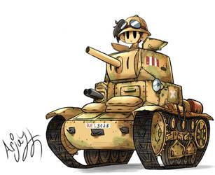 Italian M13-40  by Arjay-the-Lionheart