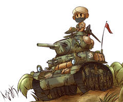 Indian M3 Stuart  by Arjay-the-Lionheart