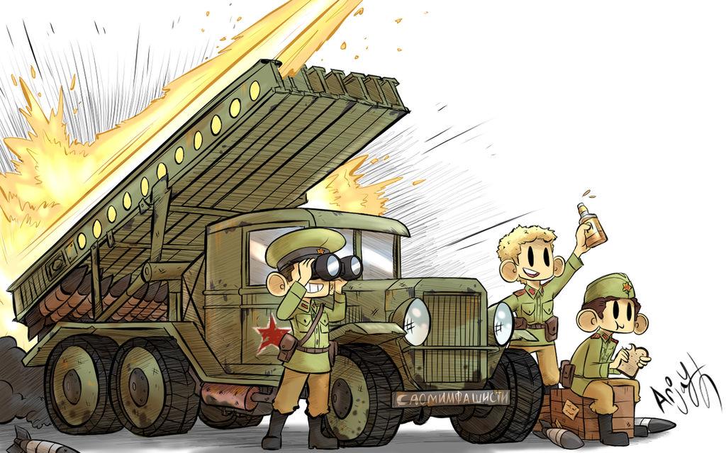 Soviet katyusha Rocket Truck by Arjay-the-Lionheart on