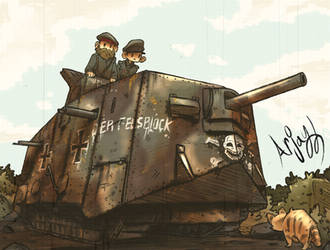 The A7V by Arjay-the-Lionheart