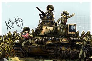 The AMX-30E (Spain) by Arjay-the-Lionheart