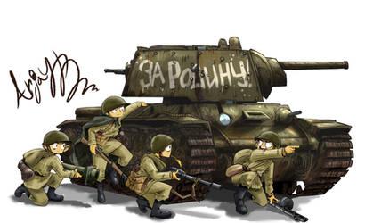 Soviet KV-1(Or KB-1)