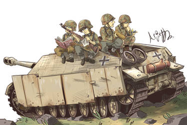 The Jagdpanzer IV by Arjay-the-Lionheart