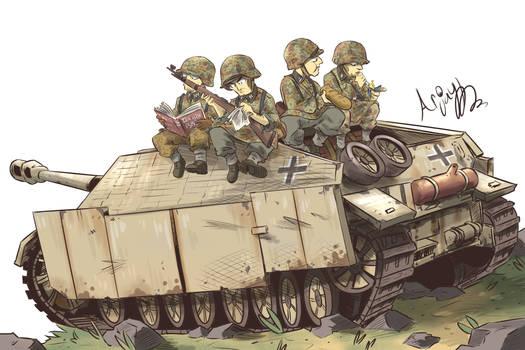 The Jagdpanzer IV