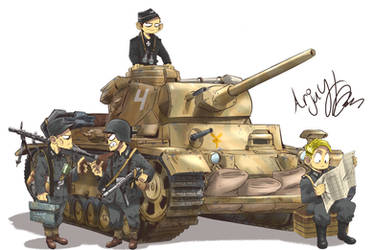 The Panzer 3 by Arjay-the-Lionheart