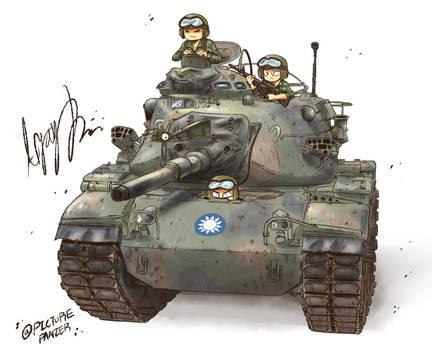 Taiwanese M60A3TTS